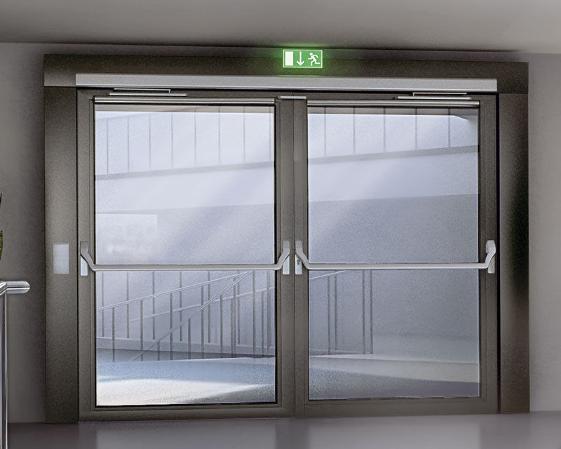 Swing-door drives & Automatiktüren Fluchtwegtüren | GU Automatic GmbH